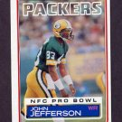 1983 Topps Football #080 John Jefferson - Green Bay Packers