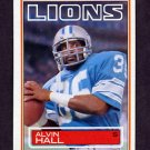 1983 Topps Football #065 Alvin Hall - Detroit Lions
