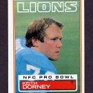 1983 Topps Football #062 Keith Dorney - Detroit Lions