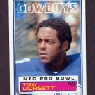 1983 Topps Football #046 Tony Dorsett - Dallas Cowboys