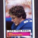 1983 Topps Football #045 Pat Donovan - Dallas Cowboys