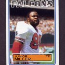 1983 Topps Football #023 Junior Miller - Atlanta Falcons