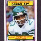 1983 Topps Football #007 Darrol Ray RB - New York Jets