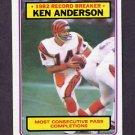 1983 Topps Football #001 Ken Anderson RB - Cincinnati Bengals