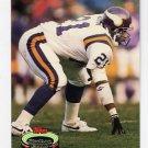 1992 Stadium Club Football #587 Terry Allen - Minnesota Vikings