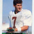 1993 Stadium Club Football #255 Steve Beuerlein - Phoenix Cardinals