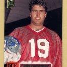 1994 Stadium Club Football #460 Scott Mitchell - Detroit Lions