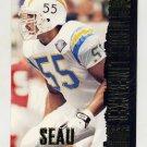 1994 Stadium Club Football #440 Junior Seau BD - San Diego Chargers