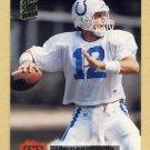 1994 Stadium Club Football #392 Jim Harbaugh - Indianapolis Colts