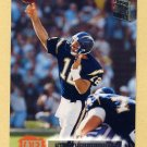 1994 Stadium Club Football #151 Stan Humphries - San Diego Chargers
