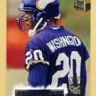 1994 Stadium Club Football #142 DeWayne Washington RC - Minnesota Vikings