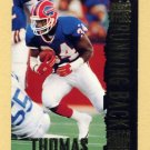1994 Stadium Club Football #111 Thurman Thomas BO - Buffalo Bills