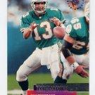 1995 Stadium Club Football #240 Dan Marino - Miami Dolphins