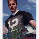 1995 Stadium Club Football #215 Kerry Collins RC - Carolina Panthers