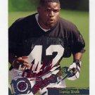 1995 Stadium Club Football #213 Devin Bush RC - Atlanta Falcons