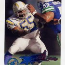 1995 Stadium Club Football #206 Junior Seau EC - San Diego Chargers