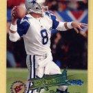 1995 Stadium Club Football #188 Troy Aikman EC - Dallas Cowboys