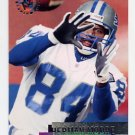 1995 Stadium Club Football #160 Herman Moore - Detroit Lions