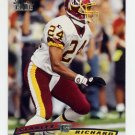 1996 Stadium Club Football #253 Stanley Richard - Washington Redskins