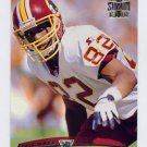 1996 Stadium Club Football #196 Michael Westbrook - Washington Redskins