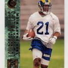 1996 Stadium Club Football #138 Lawrence Phillips RC - St. Louis Rams