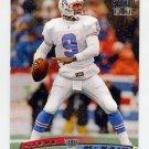 1996 Stadium Club Football #099 Steve McNair - Houston Oilers