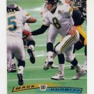 1996 Stadium Club Football #064 Mark Brunell - Jacksonville Jaguars