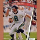 1997 Stadium Club Football Never Compromise #NC16 Mark Brunell - Jacksonville Jaguars