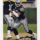 1997 Stadium Club Football #234 Harvey Williams - Oakland Raiders
