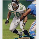 1997 Stadium Club Football #230 Eddie Robinson - Jacksonville Jaguars