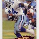 1997 Stadium Club Football #138 Herschel Walker - Dallas Cowboys