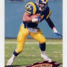 1997 Stadium Club Football #114 Lawrence Phillips - St. Louis Rams