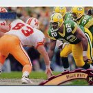 1997 Stadium Club Football #100 Reggie White - Green Bay Packers
