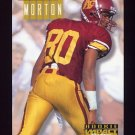 1994 Skybox Impact Football #293 Johnnie Morton RC - Detroit Lions