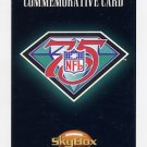 1994 Skybox Premium Football #NNO NFL Anniversary Commemorative Card