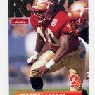 1995 Skybox Impact Football #190 Derrick Brooks RC - Tampa Bay Buccaneers