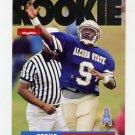 1995 Skybox Impact Football #171 Steve McNair RC - Houston Oilers