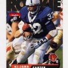 1995 Skybox Impact Football #169 Ki-Jana Carter RC - Cincinnati Bengals