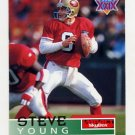 1995 Skybox Impact Football #136 Steve Young - San Francisco 49ers
