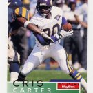 1995 Skybox Impact Football #088 Cris Carter - Minnesota Vikings