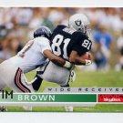 1995 Skybox Impact Football #075 Tim Brown - Oakland Raiders