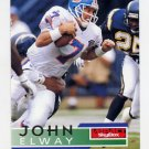 1995 Skybox Impact Football #042 John Elway - Denver Broncos