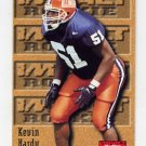 1996 Skybox Impact Football #164 Kevin Hardy RC - Jacksonville Jaguars