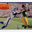 1996 Skybox Premium Football #243 Panorama Sept. 17, 1995 / Giants vs Packers
