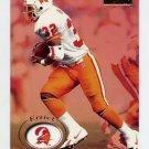 1996 Skybox Premium Football #172 Errict Rhett - Tampa Bay Buccaneers