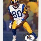 1996 Skybox Premium Football #150 Isaac Bruce - St. Louis Rams