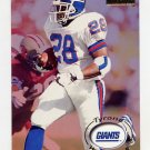 1996 Skybox Premium Football #117 Tyrone Wheatley - New York Giants