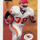 1996 Skybox Premium Football #084 Kimble Anders - Kansas City Chiefs