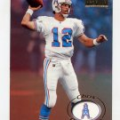 1996 Skybox Premium Football #067 Chris Chandler - Houston Oilers