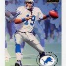 1996 Skybox Premium Football #055 Scott Mitchell - Detroit Lions